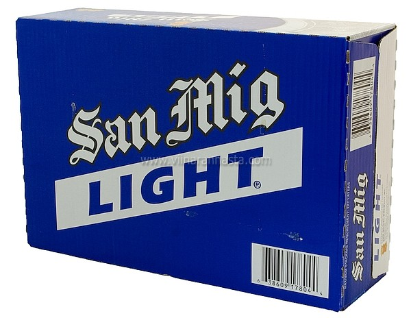 San Mig Light 5% 24x33cl TIN