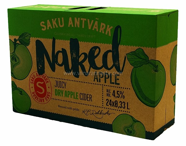 Saku Antvärk Naked Apple 4,5% 24x33cl