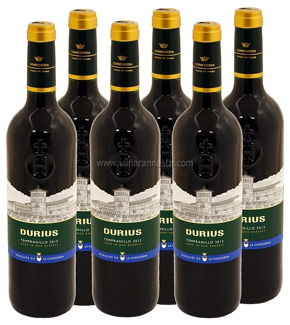Durius Tempranillo 13,5% 6x75cl