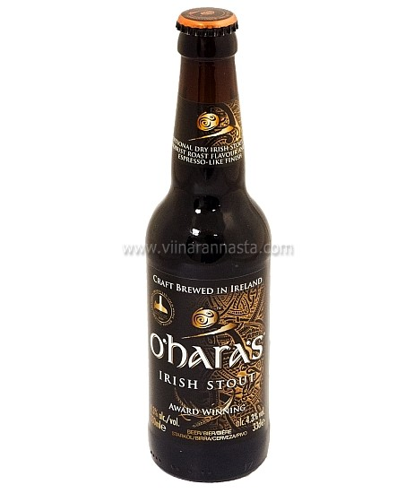 OHaras Irish Stout 4,3% 33cl