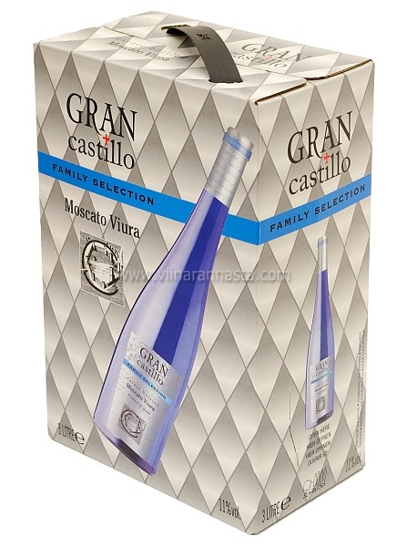 Gran Castillo Selection Moscato Viura 11% 300cl BIB