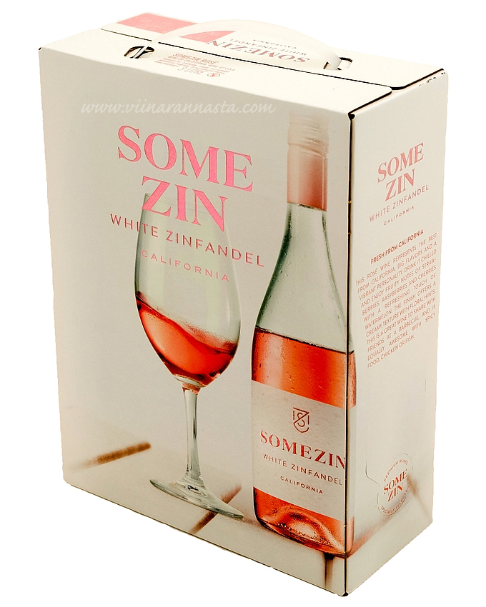 SomeZin White Zinfandel 11,5% 300cl BIB