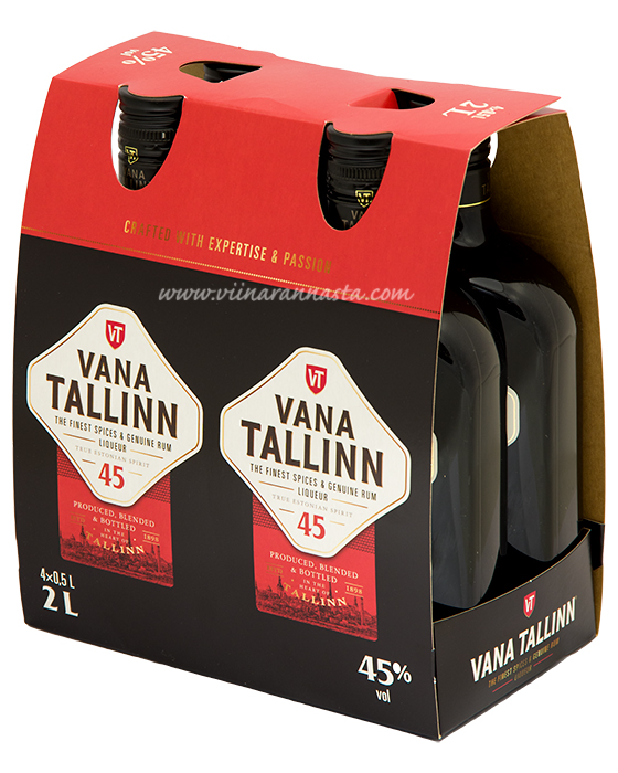 Vana Tallinn 45% 4x50cl PET